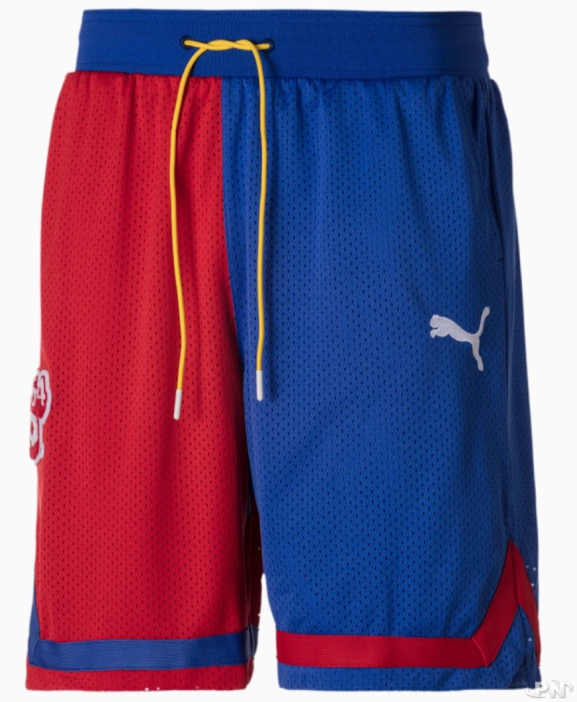 Short de basket Puma Super Mario