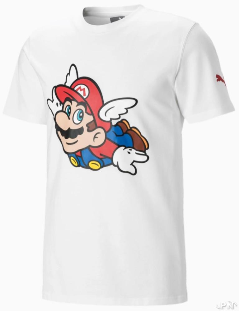 T-shirt à manches courtes Puma Nintendo