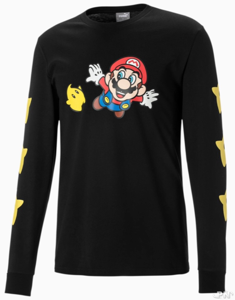 T-shirt à manches longues Puma Nintendo