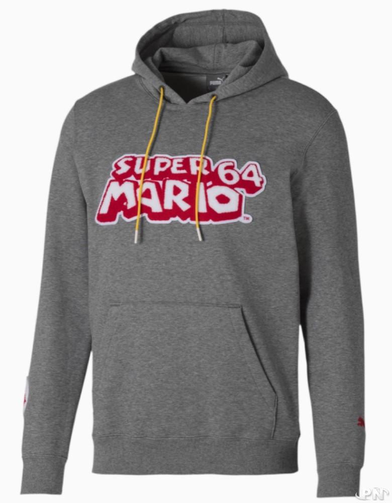 Sweat à capuche Super Mario 64
