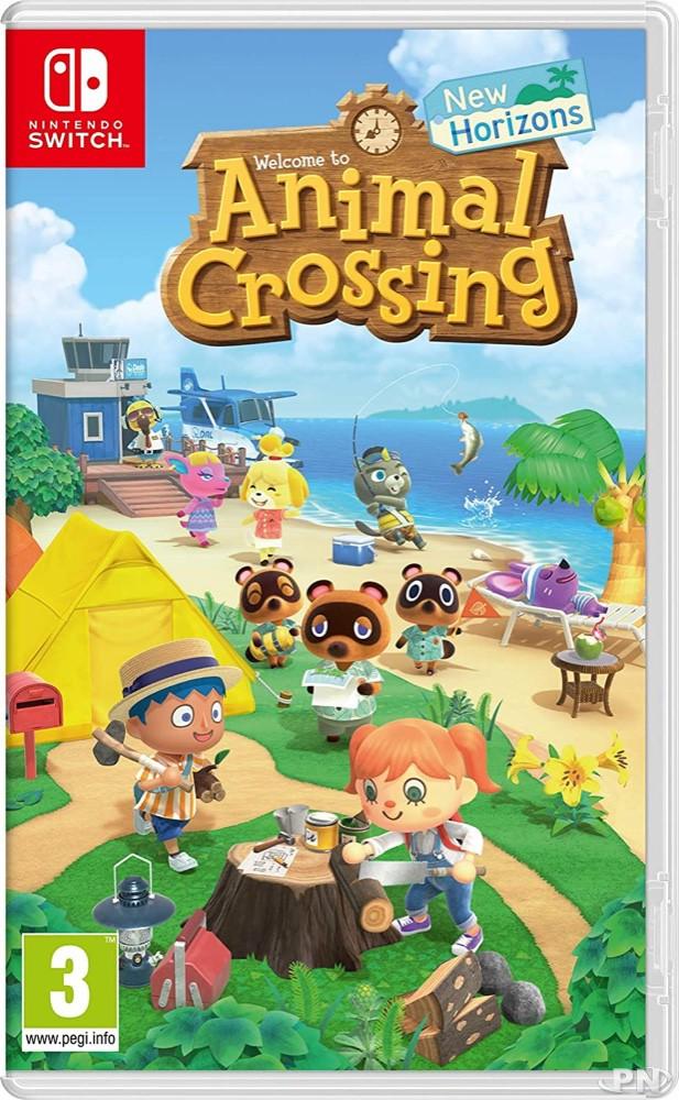 Jaquette Pal européenne d'Animal Crossing: New Horizons (Nintendo Switch)