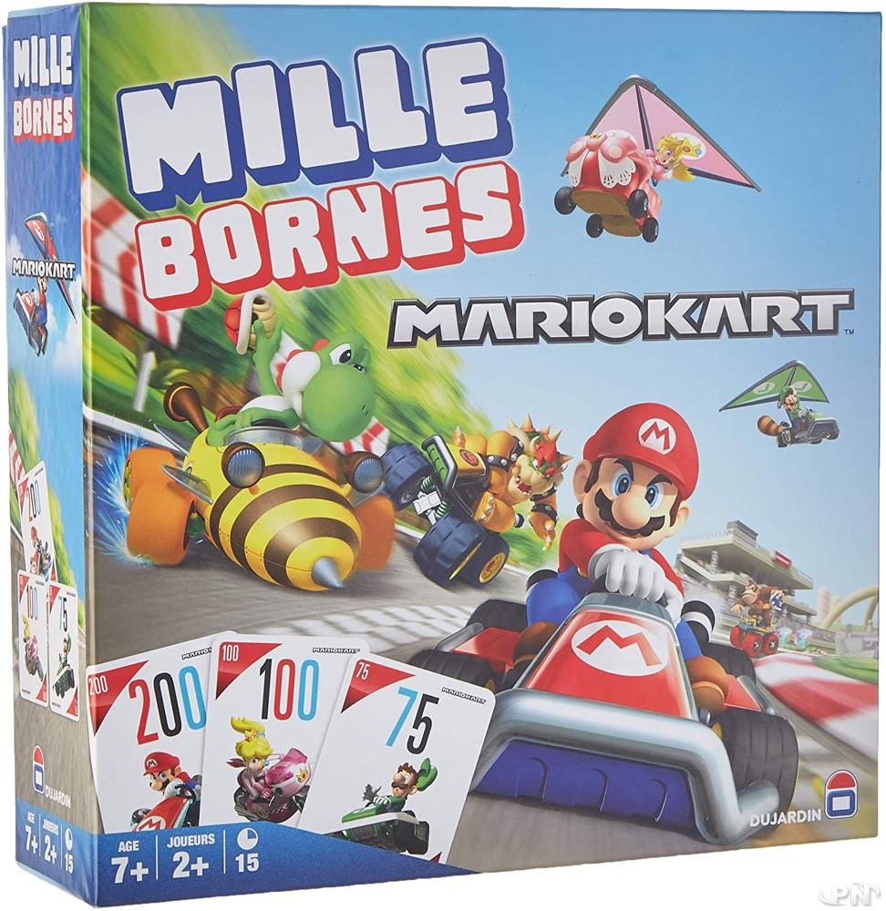 Jeu Mille Bornes Mario Kart des Editions Dujardin