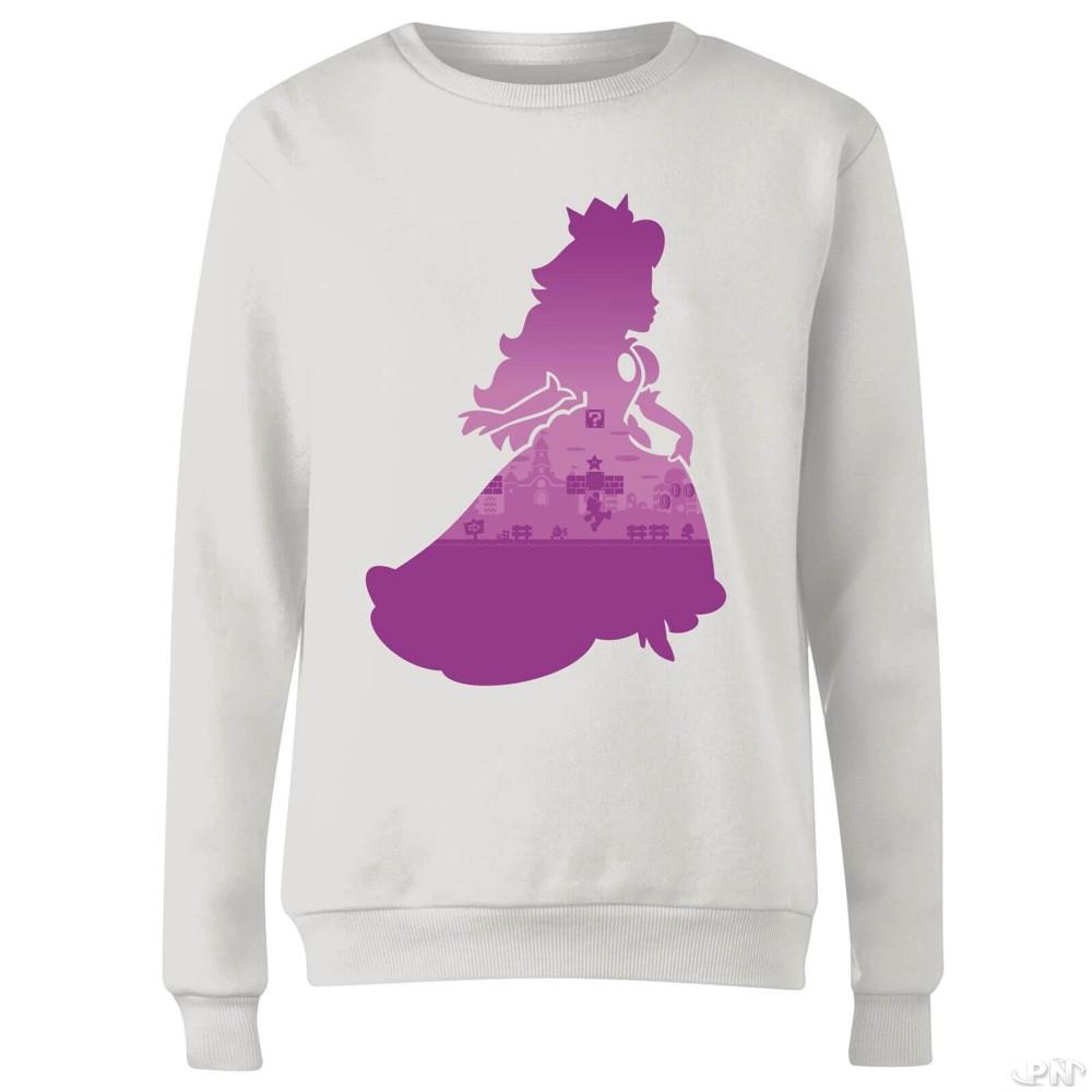 T-shirt femme violet avec la Princesse Peach