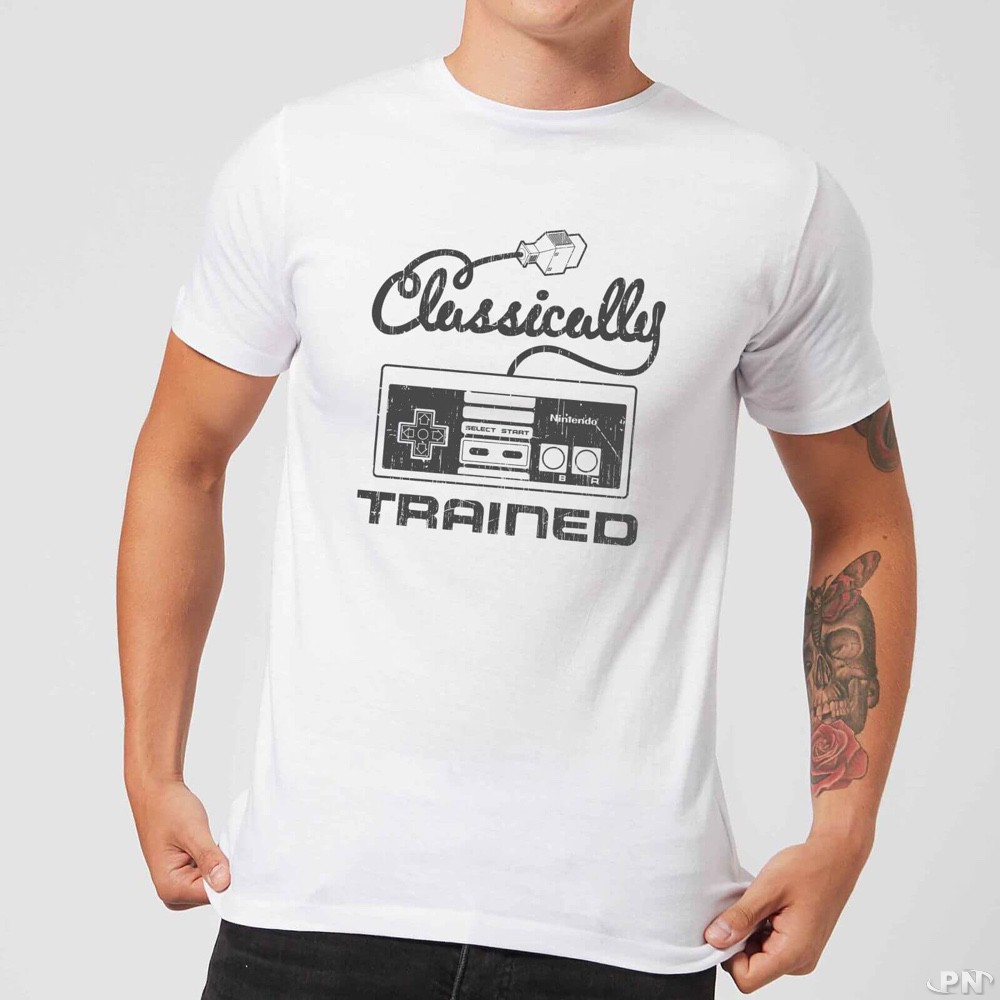 t-shirt Homme Classically Trained avec manette NES