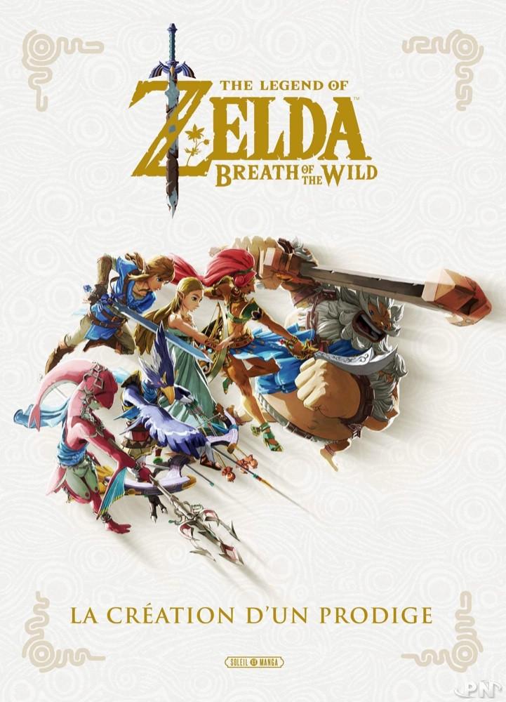 Zelda Breath of the Wild : Création d'un prodige (édition Soleil Manga, 2020)