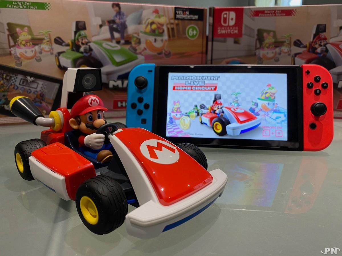 Très belle finition pour le kart de Mario Kart Live: Home Circuit (Nintendo Switch)