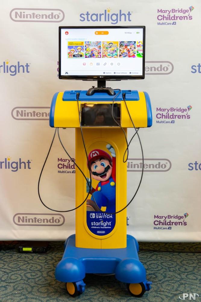 Borne Nintendo Switch Starlight