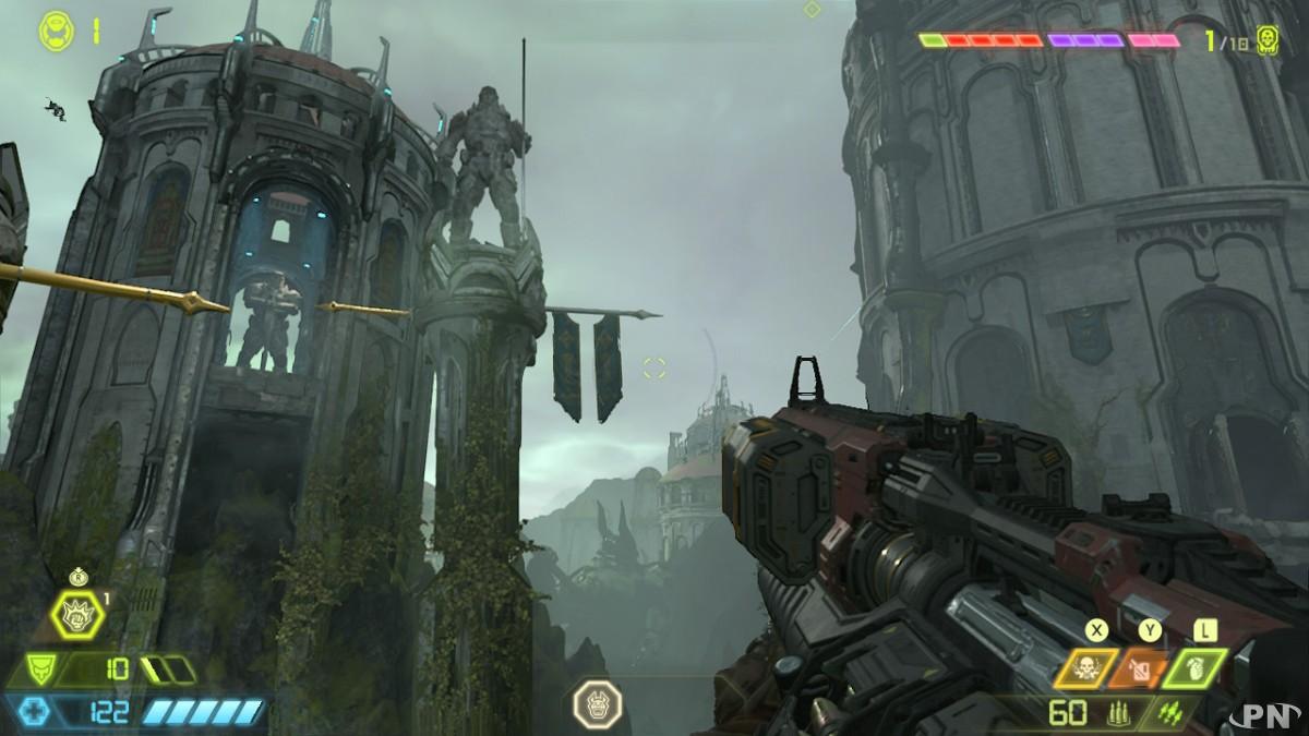 Doom Eternal est d'une qualité surprenante sur Switch !