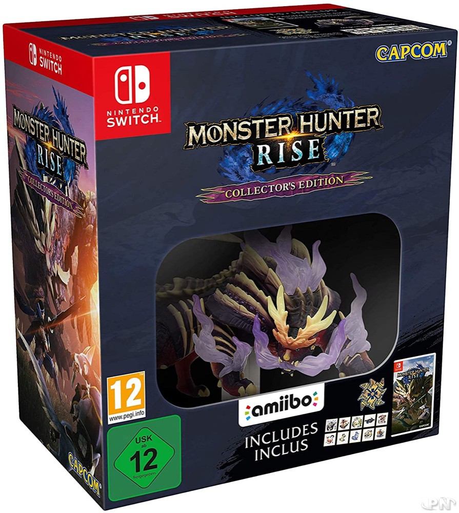 Edition collector Monster Hunter Rise sur Nintendo Switch