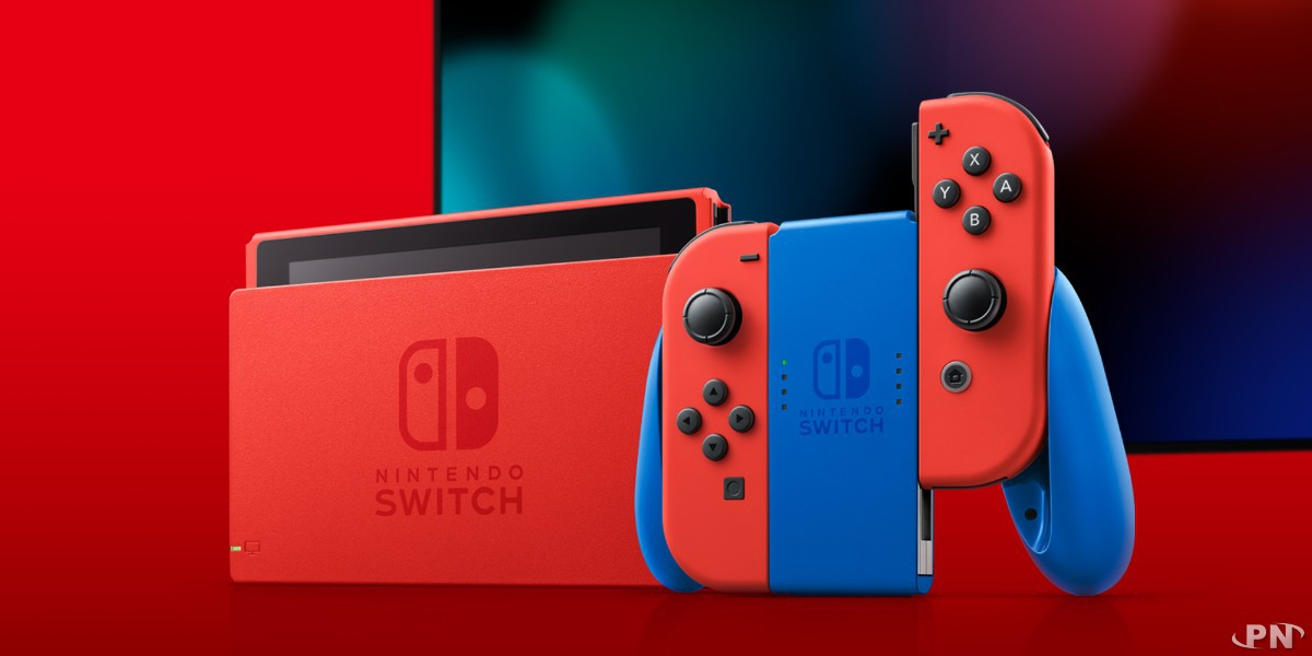 Switch Mario Red & Blue Edition