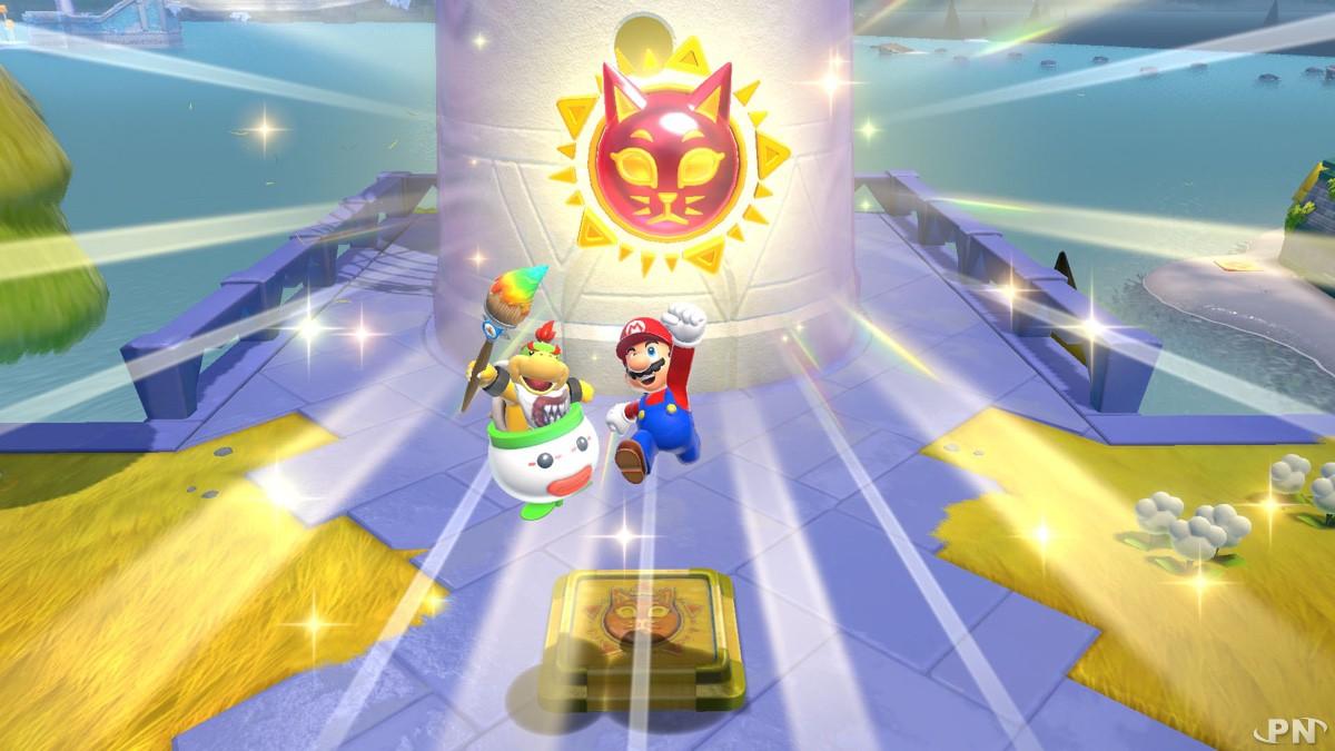 Super Mario s'allient à Bowser Junior dans Super Mario 3D World + Bowser's Fury sur Nintendo Switch