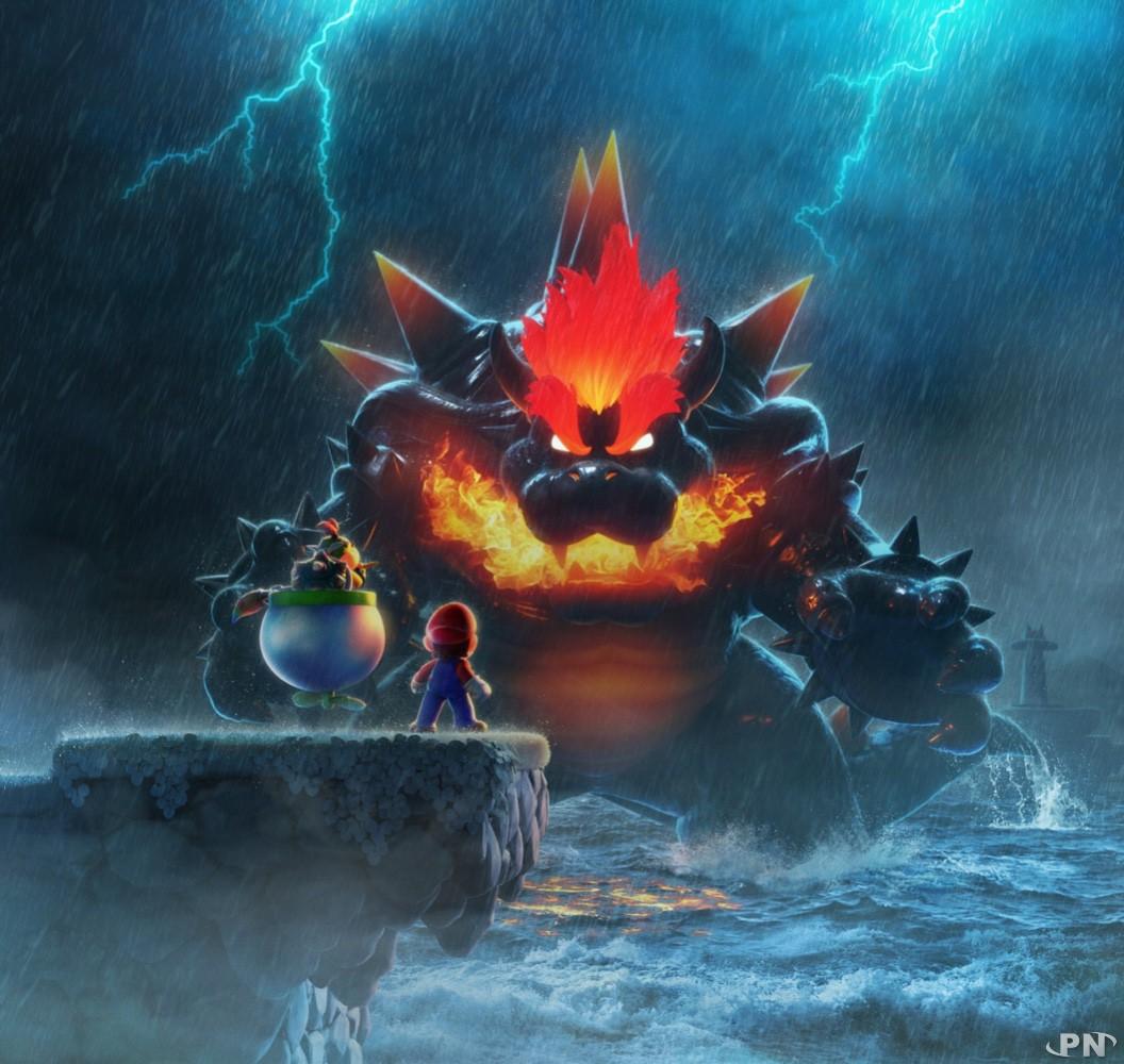 Artwork officiel Super Mario 3D World + Bowser's Fury sur Nintendo Switch