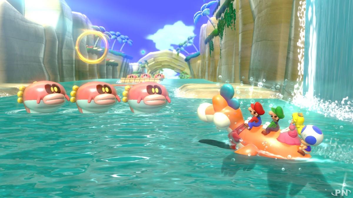 A dos de Plessie, 4 joueurs dévalent le cours d'eau !
