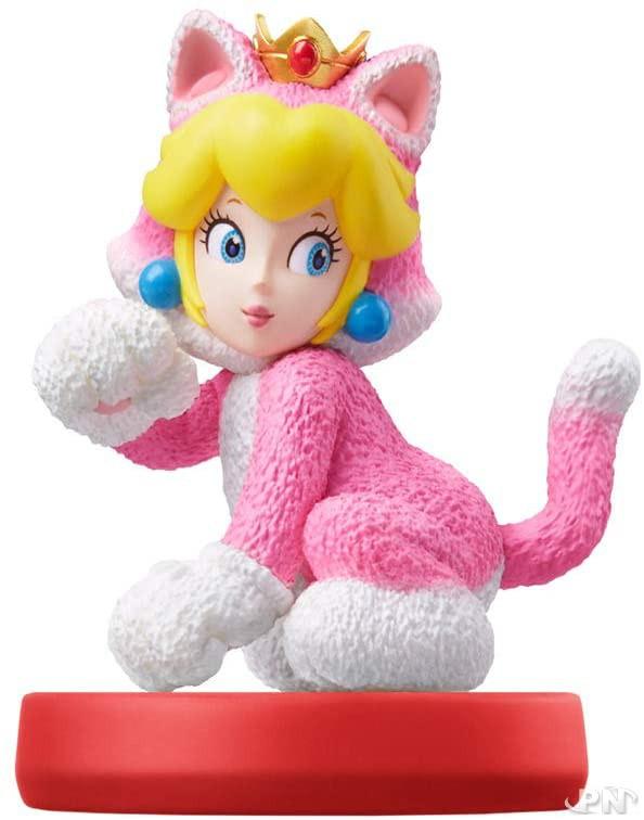 amiibo de Peach Chat pour Super Mario 3D World + Bowser's Fury (Nintendo Switch)
