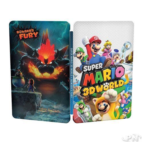 Steelbook Super Mario 3D World + Bowser's Fury : bonus de précommande FNAC