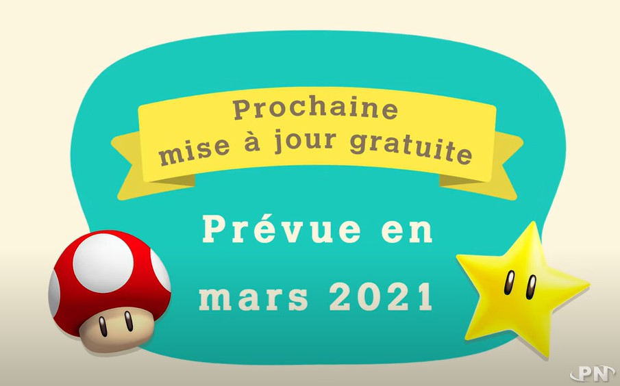 mise à jour de mars 2021 : Super Mario Bros dans Animal Crossing: New Horizons