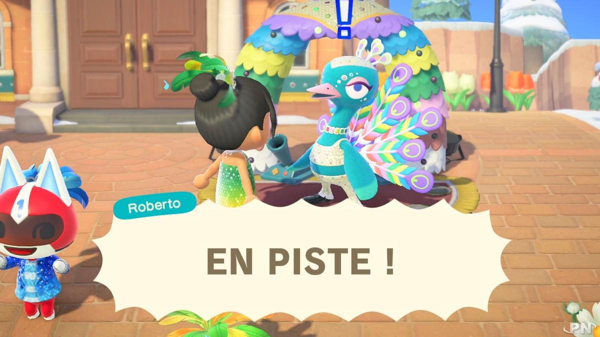 En piste avec Roberto dans la prochaine mise à jour d'Animal Crossing: New Horizons