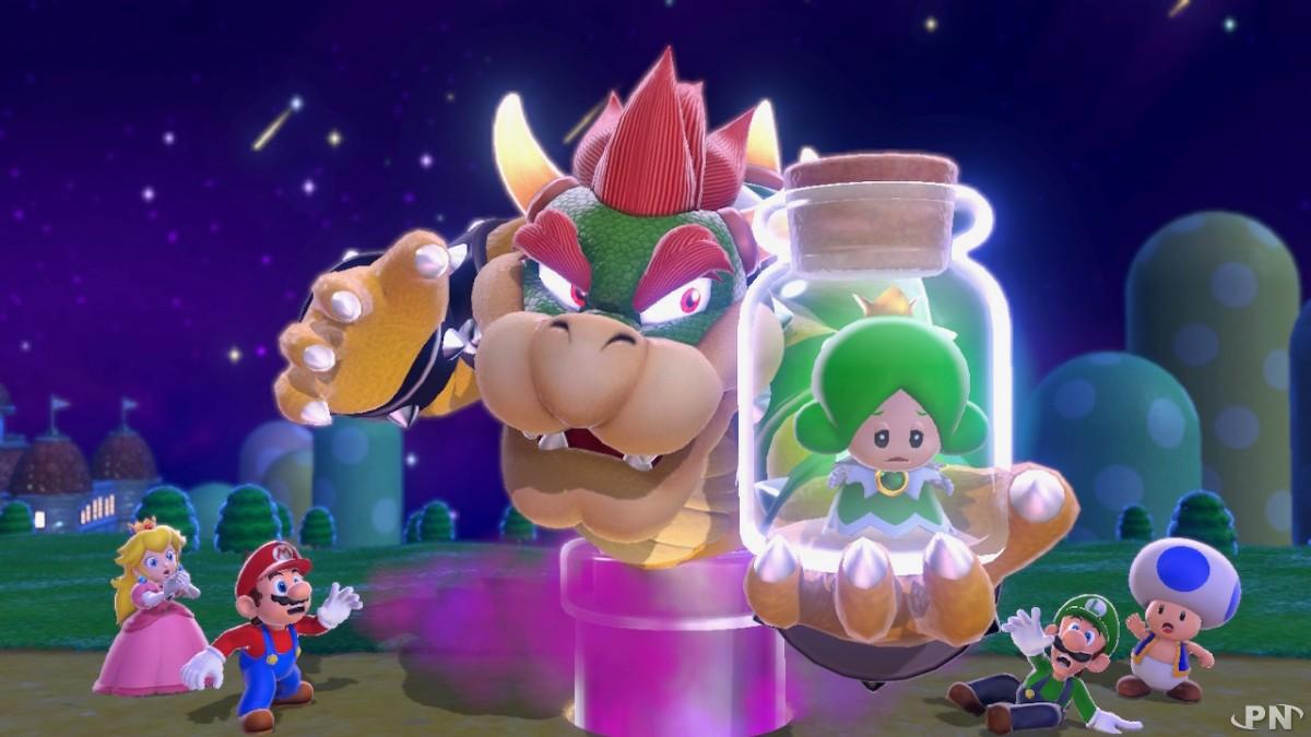 Bowser fait encore des siennes dans Super Mario 3D World
