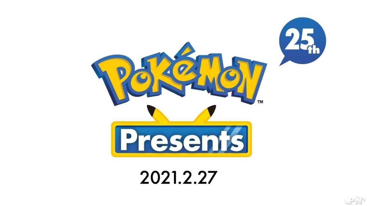 Pokémon presents de 20 minutes le vendredi 26 février 2021