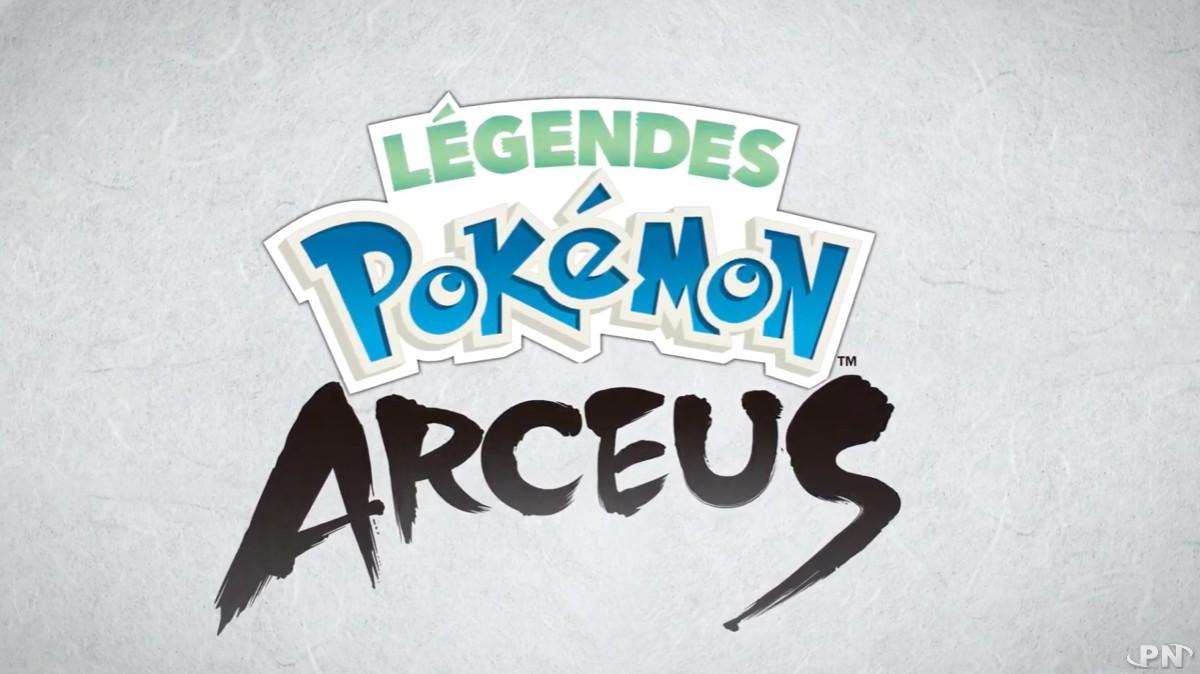 Logo Légendes Pokémon : Arceus (Nintendo Switch, 2022)