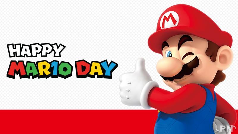 MAR10 : le 10 mars, Bonne Fête Mario !