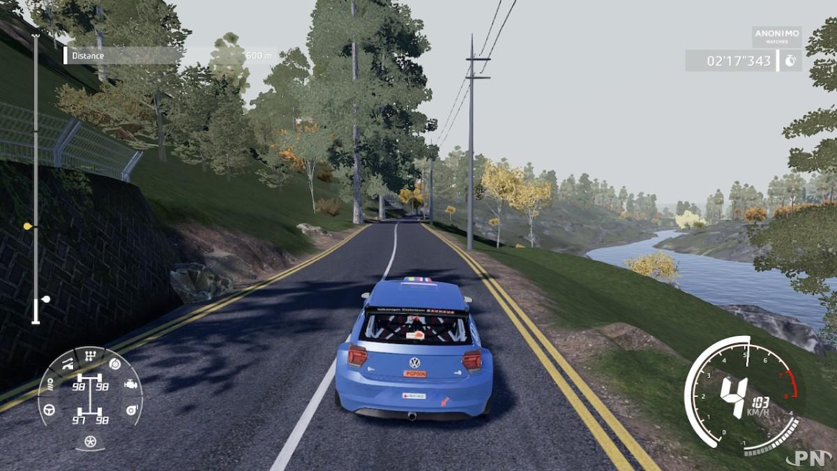 WRC 9 sur Nintendo Switch