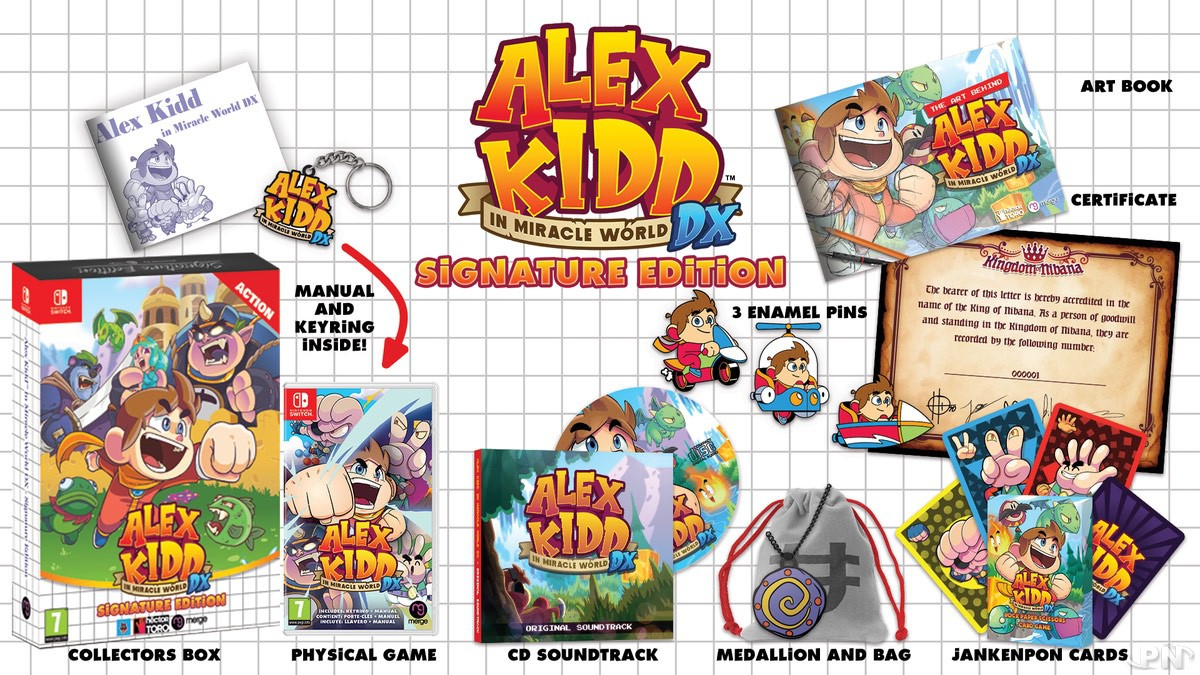 Alex Kidd in Miracle World DX Edition Signature Nintendo Switch