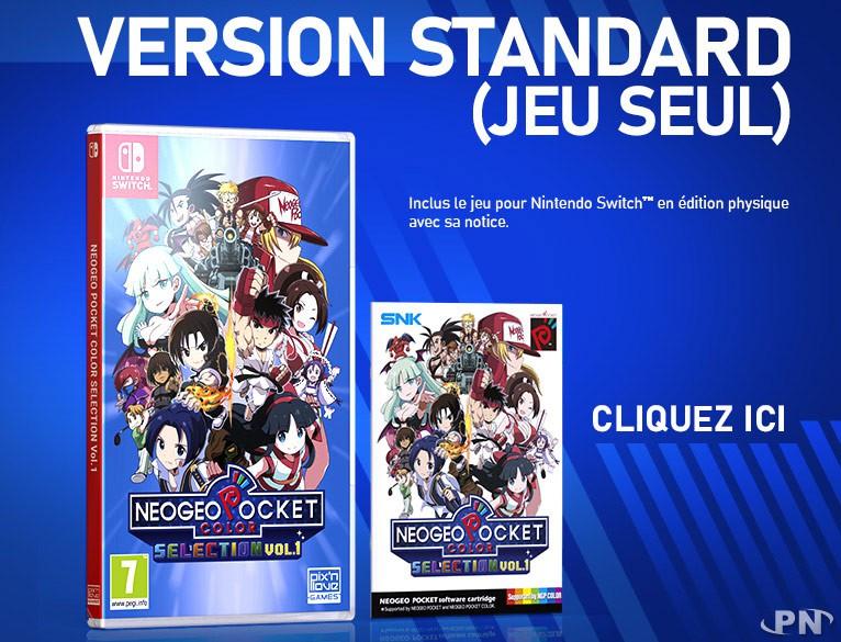 Neo Geo Pocket Color Selection Vol. 1 version physique standard