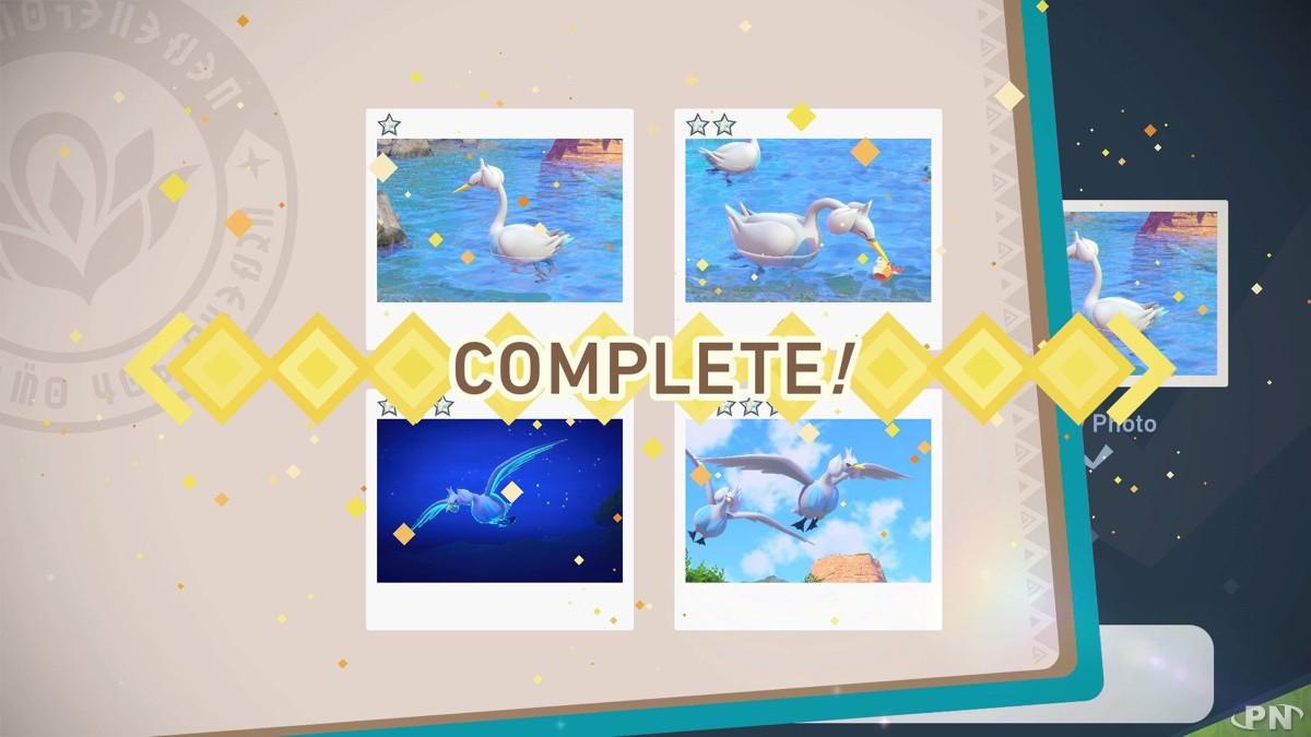 Chaque Pokémon devra donc être photographié 4 fois !