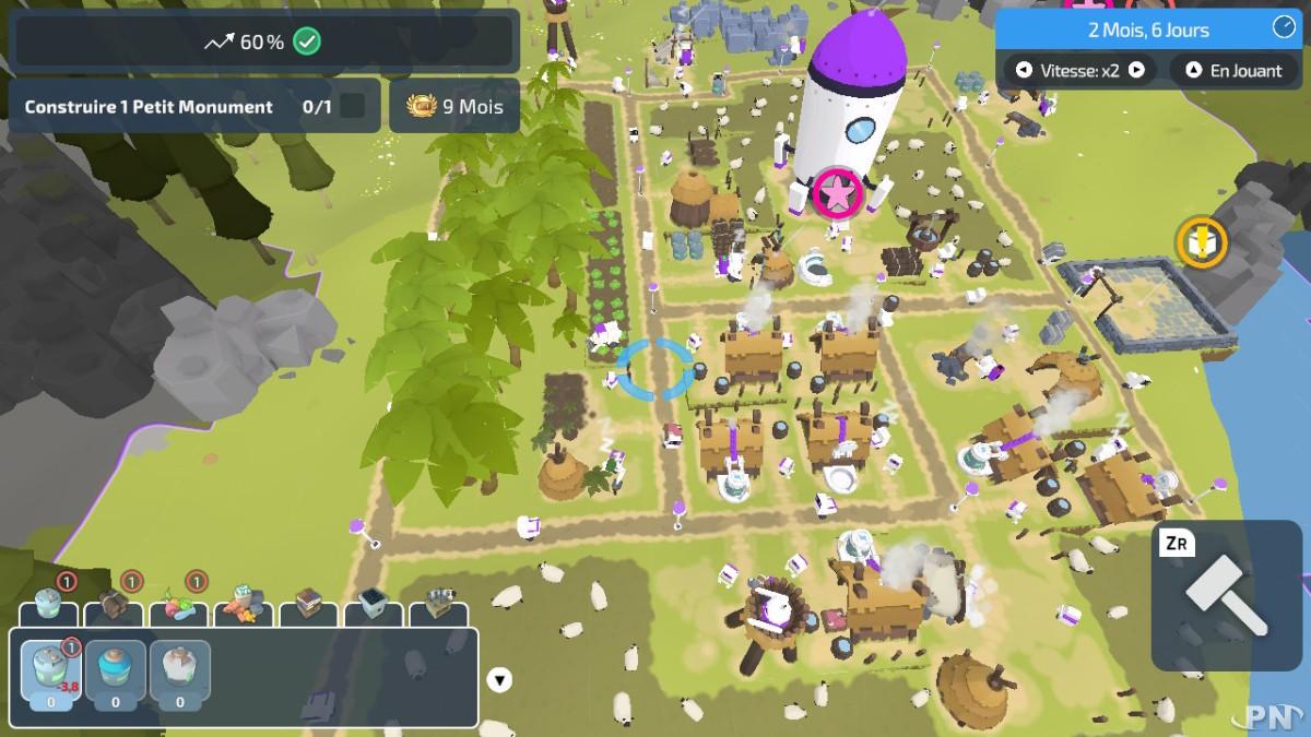 The Colonists, jeu dispo sur l'eShop de la Nintendo Switch