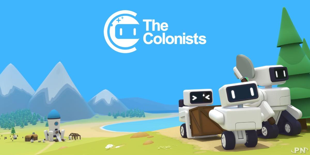 Bienvenue dans le jeu The Colonists sur Nintendo Switch