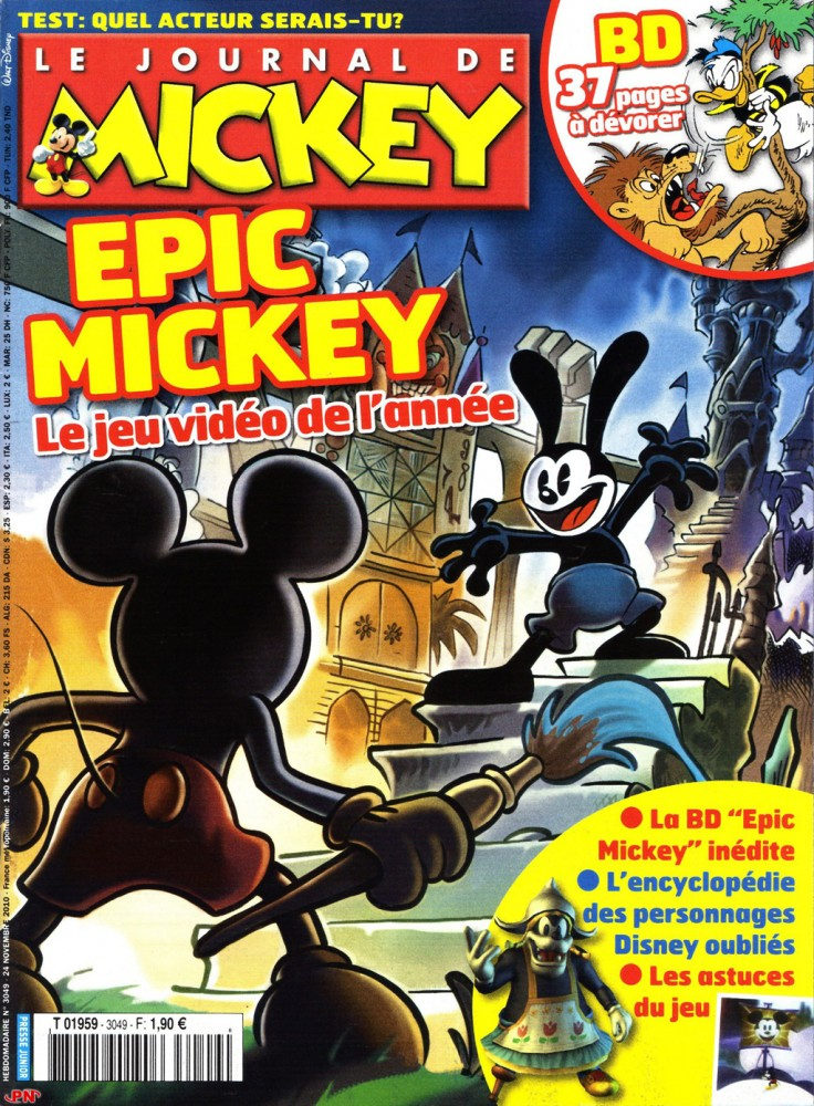 Epic Mickey 01-couv
