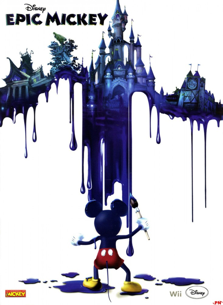 Epic Mickey Poster2