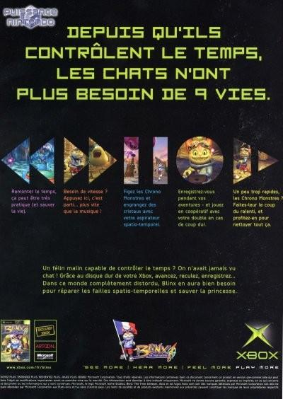 Publicité Blinx