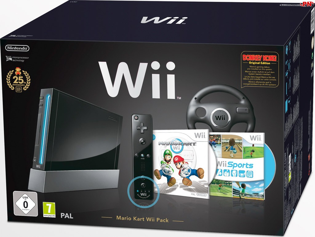 Nouveau bundle Wii 25ansmariokart01