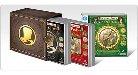 Goodies Layton : un boitier de rangement pour jeux Layton