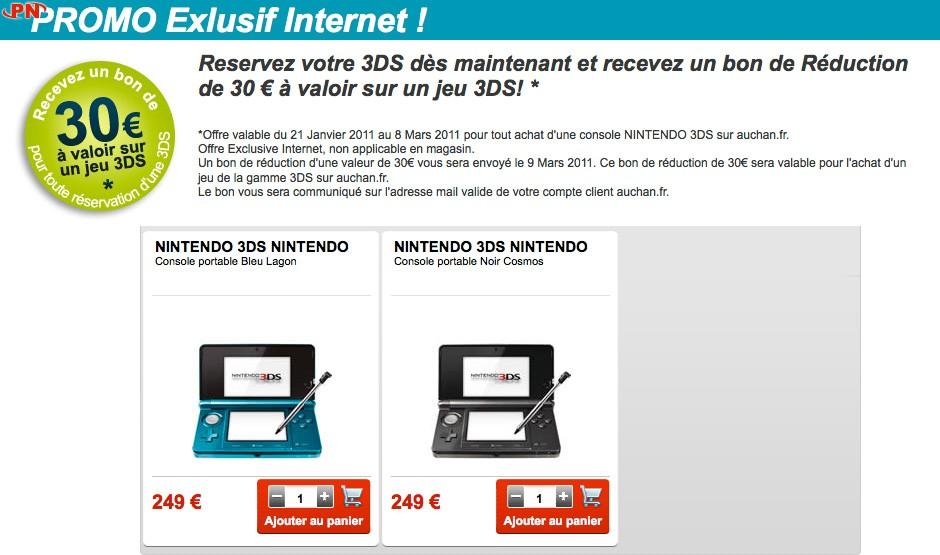 Nintendo 3DS, ouahhh ... 20110205-auchan