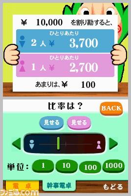 Tingle Denkaku, une simple calculatrice