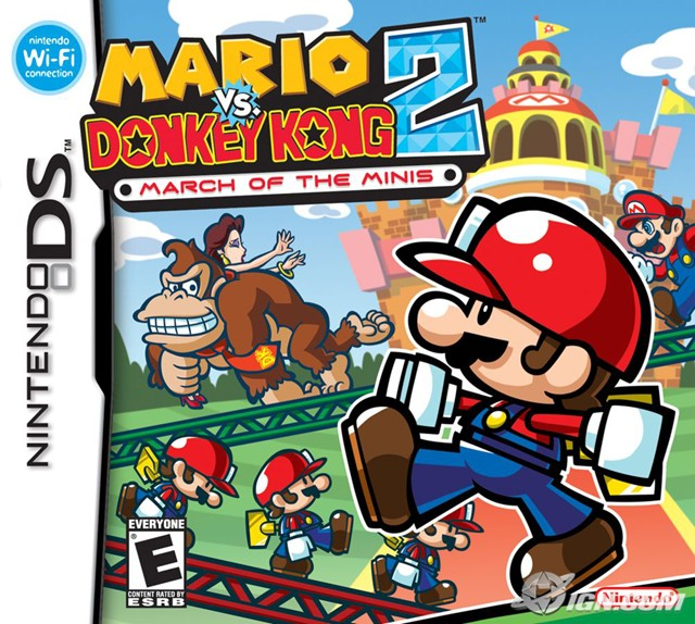 Mario Vs Donkey Kong 2 March of the Minis