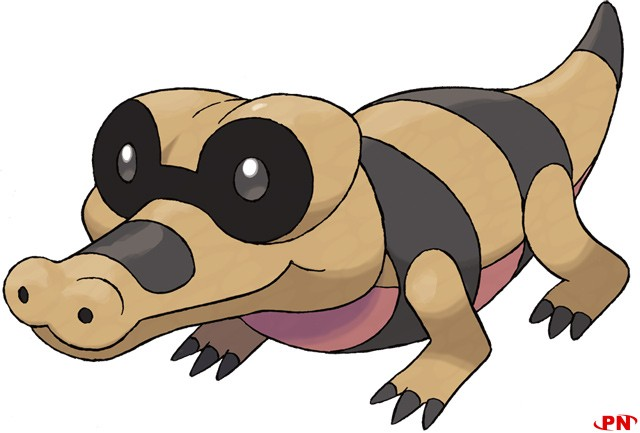 Pokemon Black et White, La 5e generation !!! Sandile