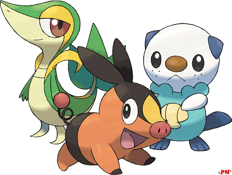 Pokemon Black et White, La 5e generation !!! Starter