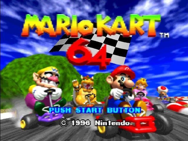 [Nintendo] Mario kart 01