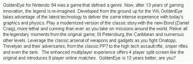 Goldeneye Wii 01