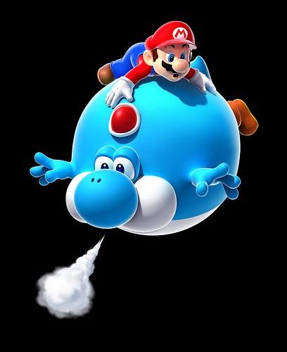 [SORTI] Super Mario Galaxy 2 ! Yoshi-bleu