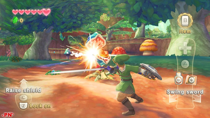 The Legend of Zelda : Skyward Sword 16