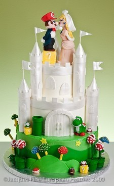 Insolites ... !!! - Page 2 Castle-cake