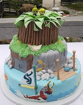 Insolites ... !!! - Page 2 Wind-waker-cake