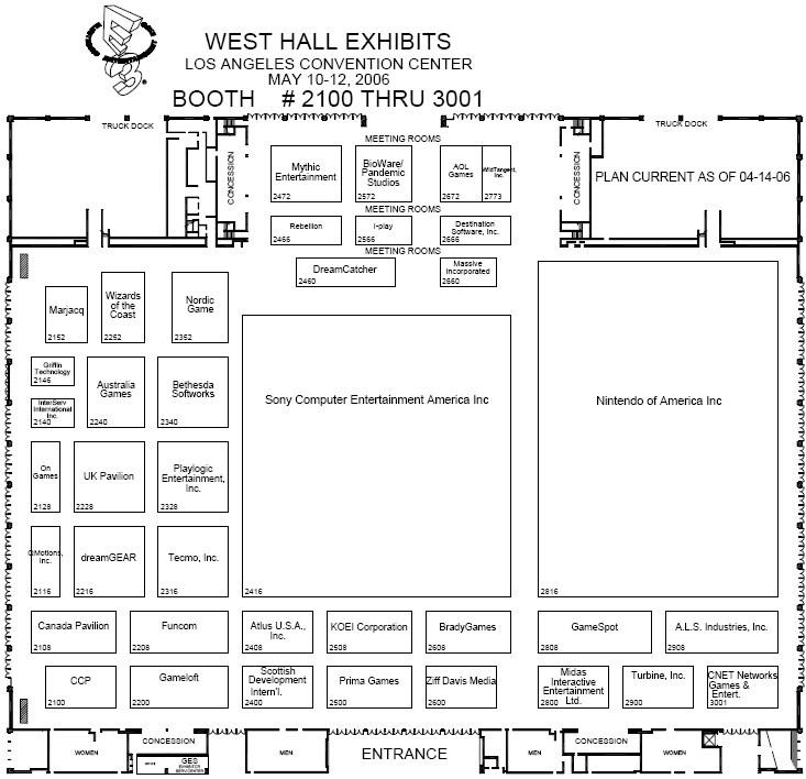 E3 2006 West-hall