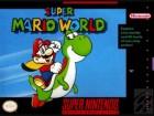 Boîte US de Super Mario World sur SNES