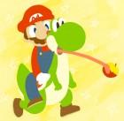 Fonds d'écran de Super Mario World sur SNES